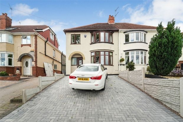 3 Bedroom Semi-Detached for sale in Wednesbury, West Midlands, United Kingdom