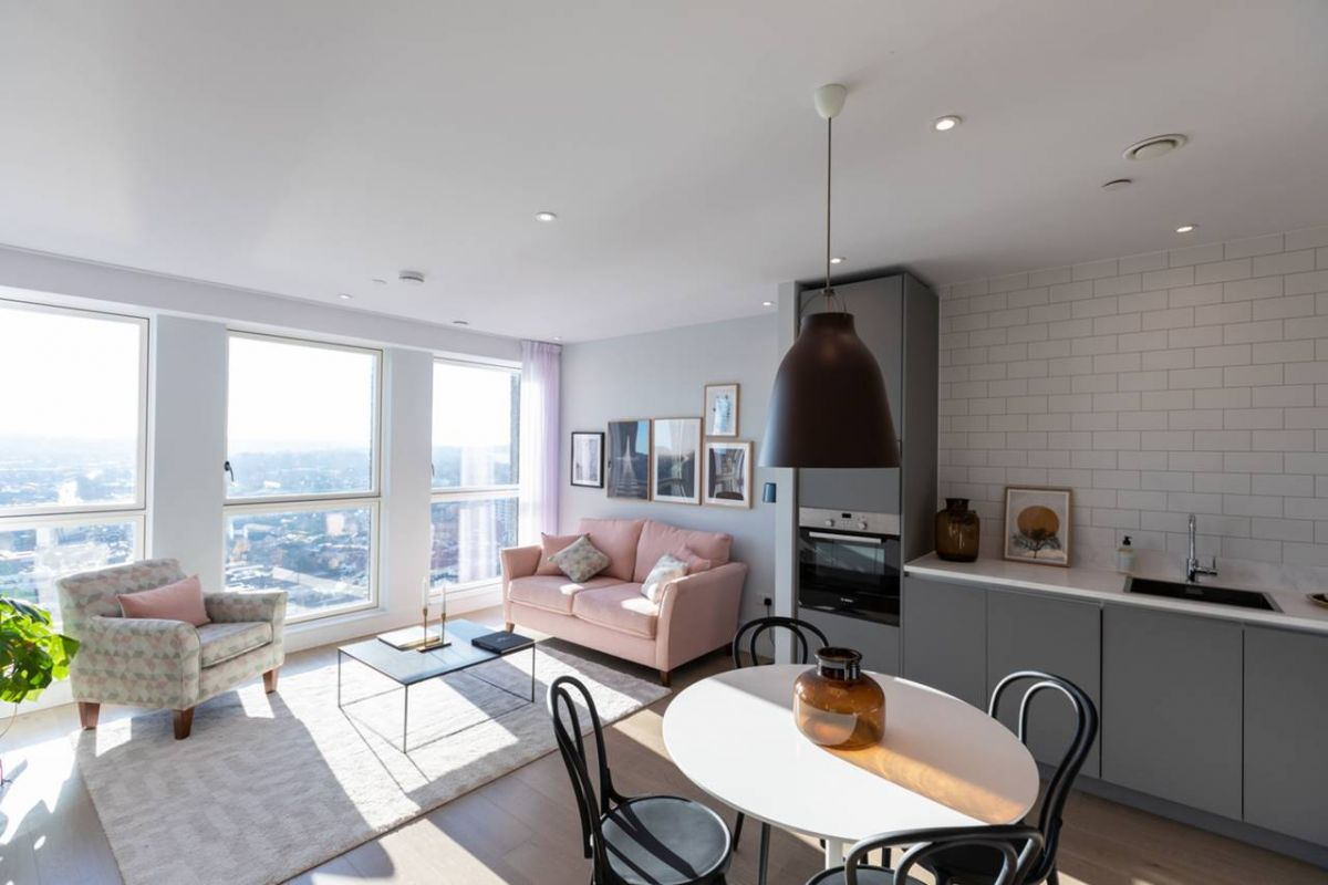 1 Bedroom Flat for sale in Croydon, Leon House