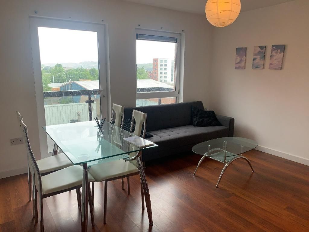 1 Bedroom Flat to rent in Sheffield, Upper Allen Street