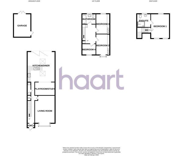 4 Bedroom Terraced for sale in Romford, Marshalls Drive