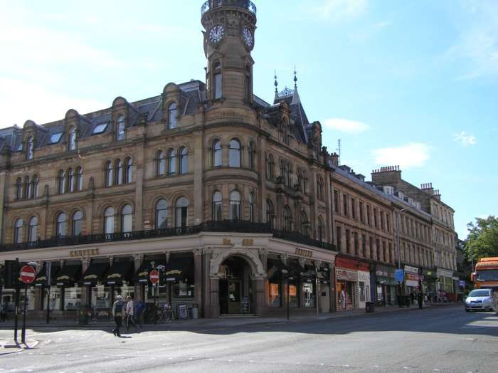 1 Bedroom Flat to rent in Glasgow, Bank Street