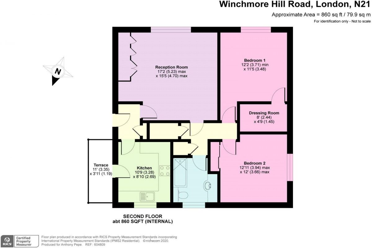 2 Bedroom Flat to rent in Winchmore Hill, Park House