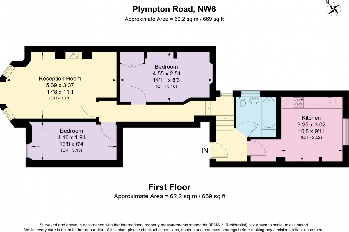 2 Bedroom Flat for sale in Roseville, Plympton Road